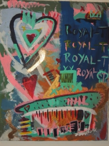 """Royalty""  24in x 16in AcrylicOnCanvas 2012 Emanuel Perez"